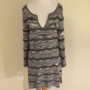 White House Black Market Knit tunic dress medium